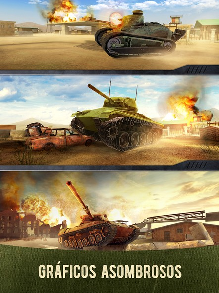 War Machines Tank Shooter Game APK MOD v5.5.0 (Radar Map) 1