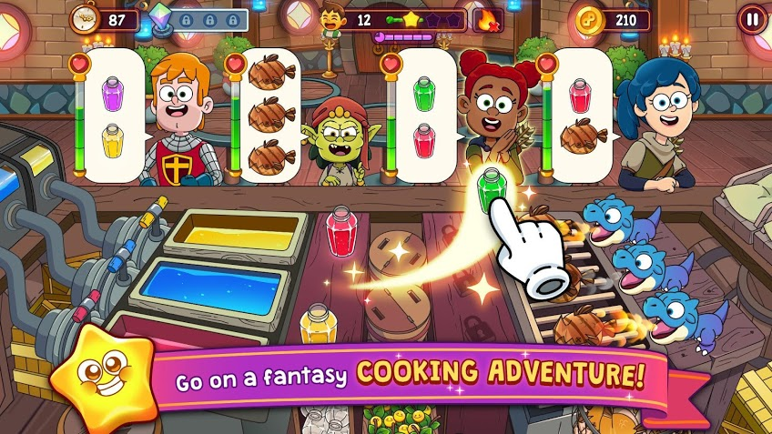 Potion Punch 2- Fantasy Cooking Adventures APK MOD Imagen 1
