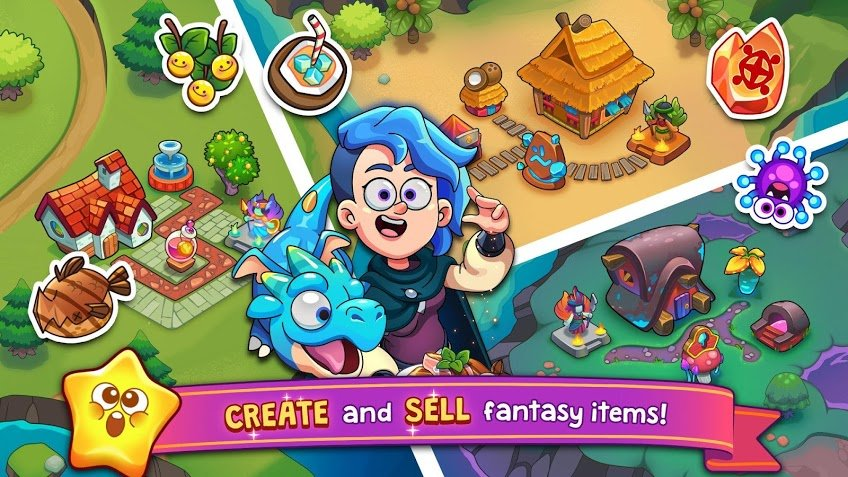 Potion Punch 2- Fantasy Cooking Adventures APK MOD Imagen 2
