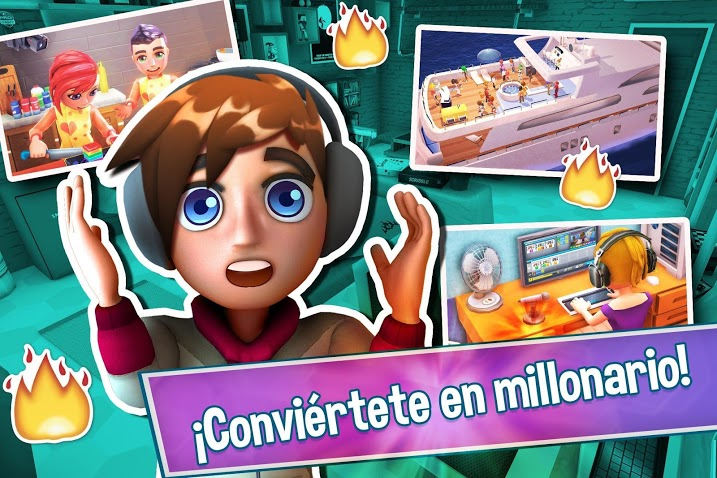 Youtubers Life - Gaming Channel APK MOD Imagen 1
