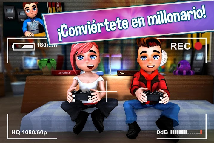 Youtubers Life - Gaming Channel APK MOD Imagen 3