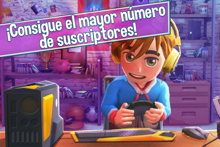 Youtubers Life - Gaming Channel APK MOD Imagen 4