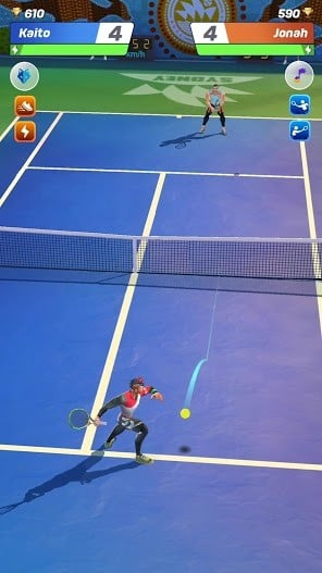 Tennis Clash 3D Free Multiplayer Sports Games APK MOD Imagen 1