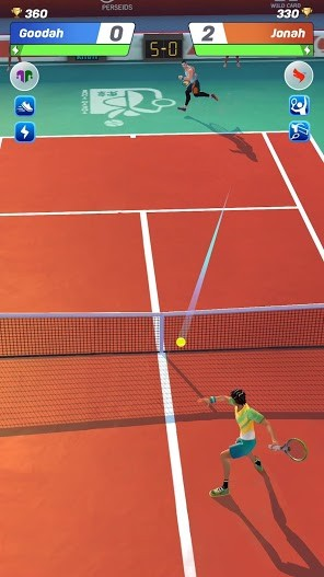 Tennis Clash 3D Free Multiplayer Sports Games APK MOD Imagen 4