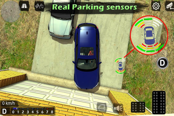 Manual gearbox Car parking APK MOD Imagen 4