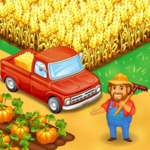 Farm Town: Happy farming Day APK MOD