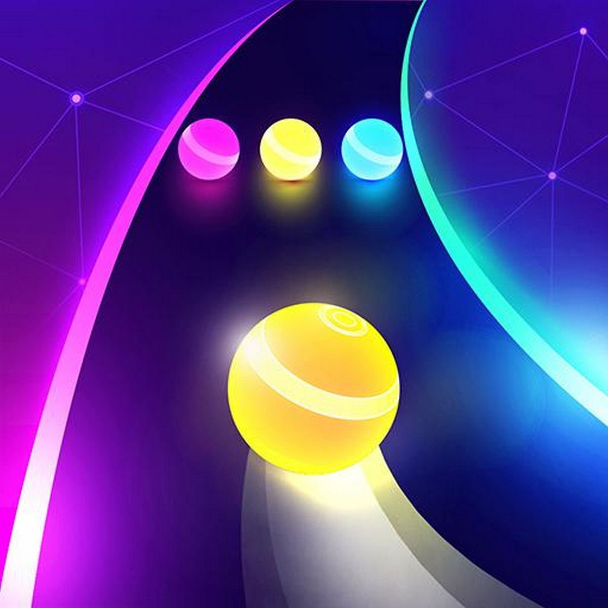 Dancing Road Color Ball Run APK MOD