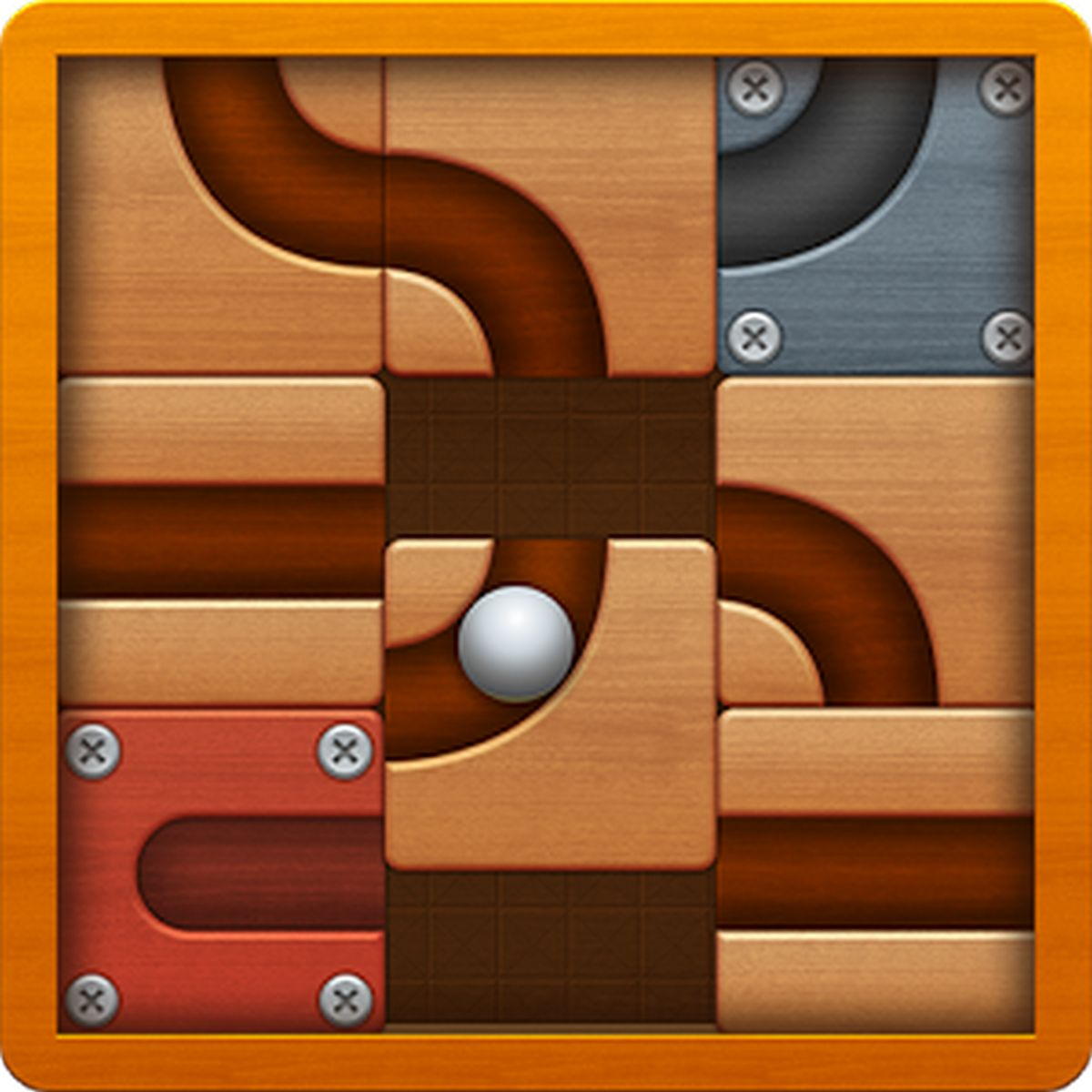 Roll the Ball slide puzzle APK MOD