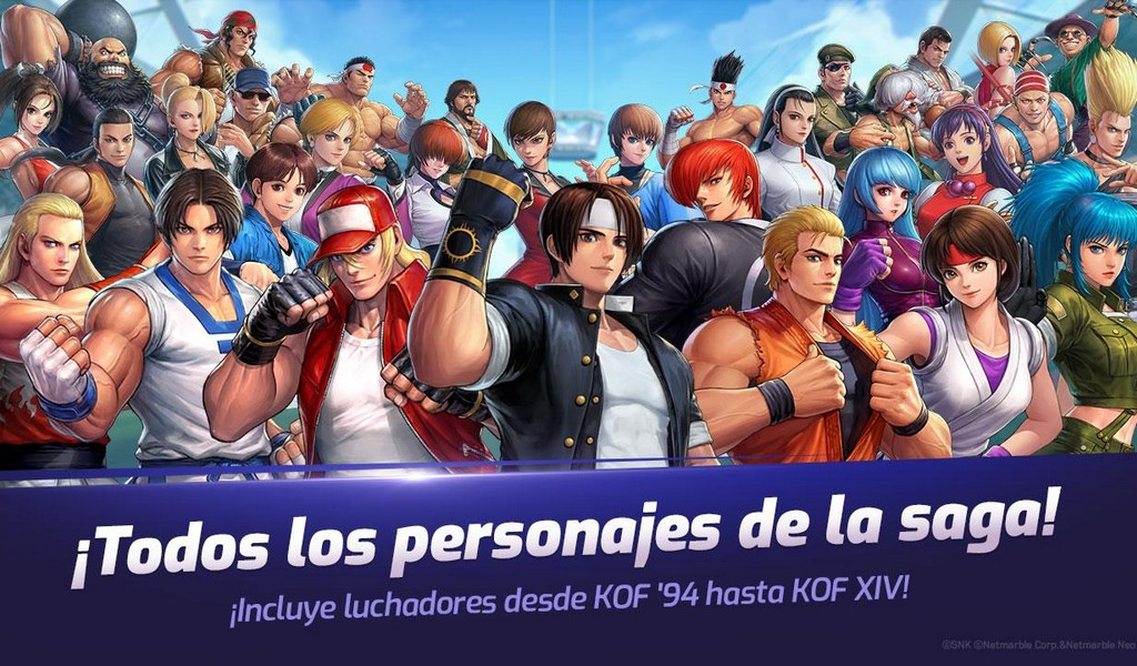 The King of Fighters ALLSTAR APK MOD imagen 1