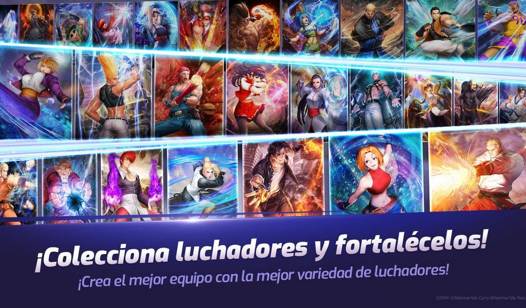 The King of Fighters ALLSTAR APK MOD v1.5.0 (Habilidades ilimitadas) 1