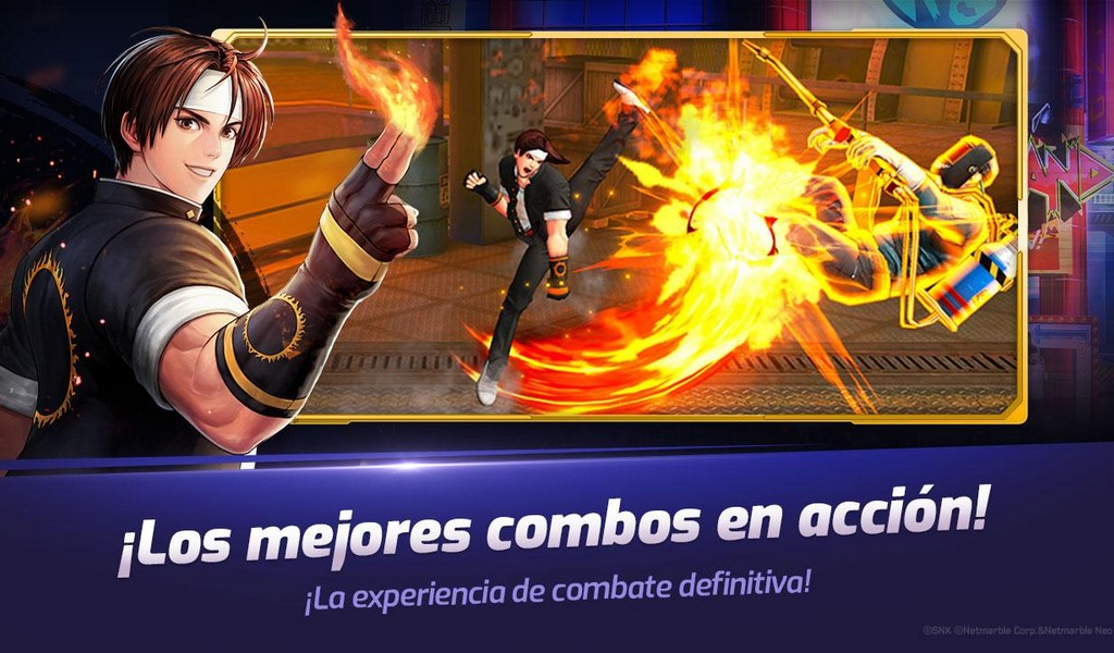 The King of Fighters ALLSTAR APK MOD v1.5.0 (Habilidades ilimitadas) 2