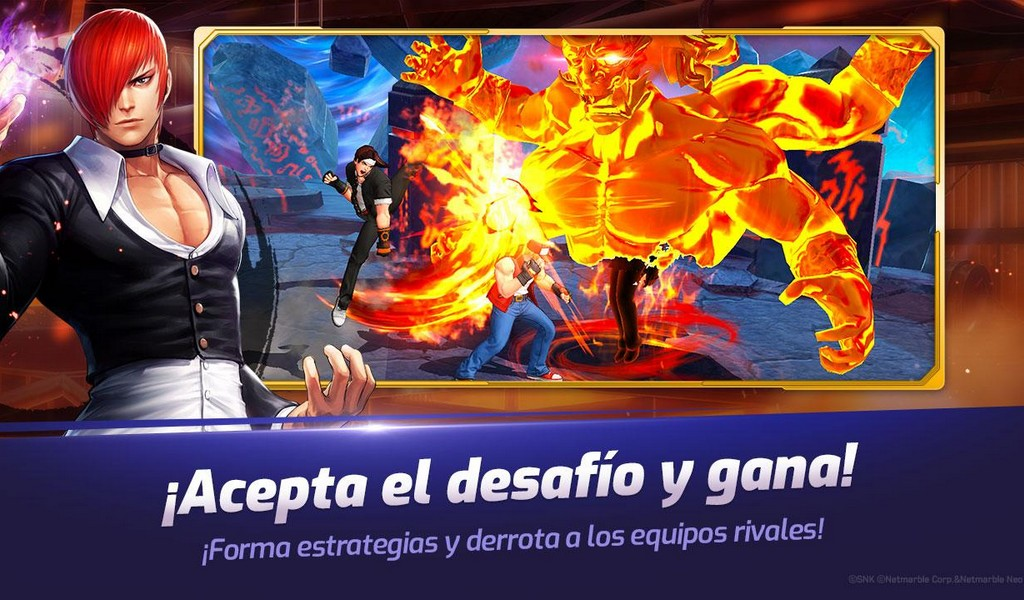 The King of Fighters ALLSTAR APK MOD imagen 4