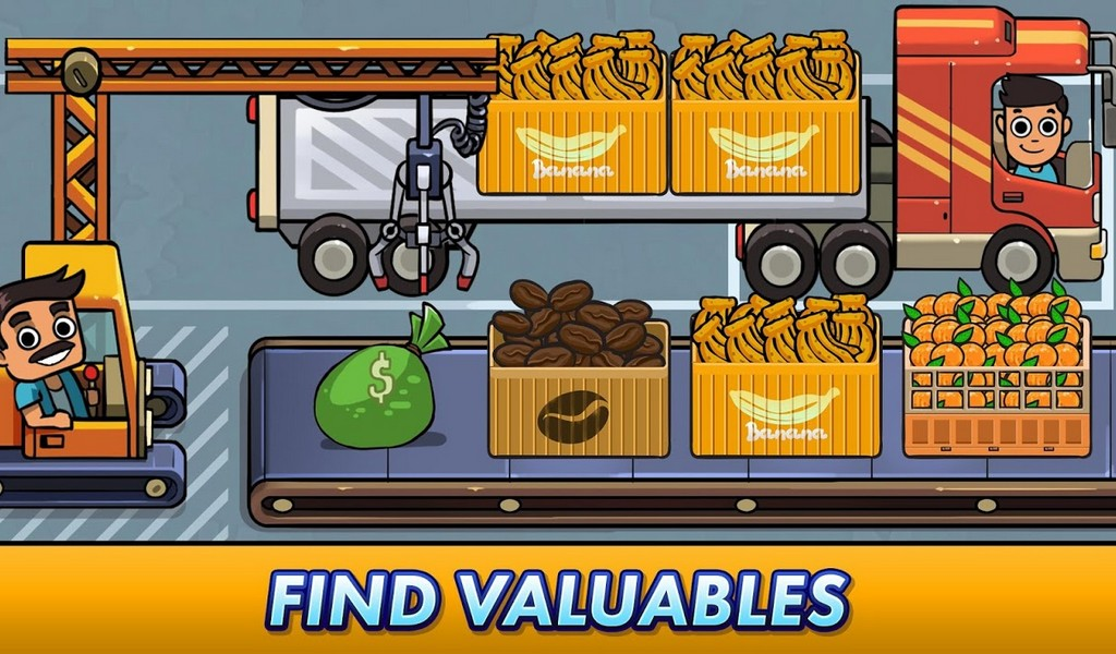 Transport It! - Idle Tycoon APK MOD imagen 1