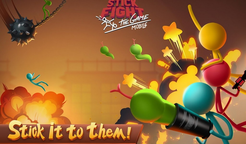 Stick Fight The Game Mobile APK MOD imagen 1
