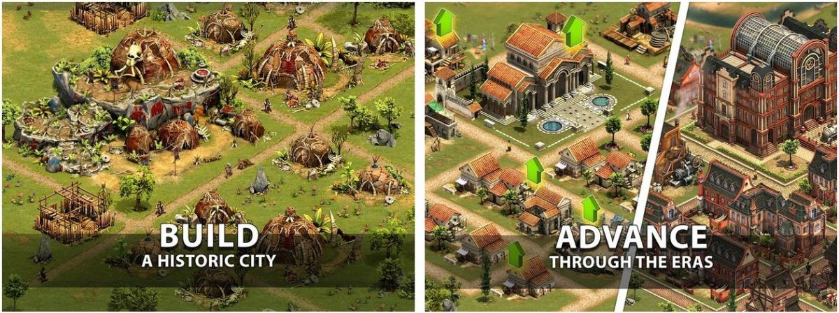 Forge of Empires Build your City