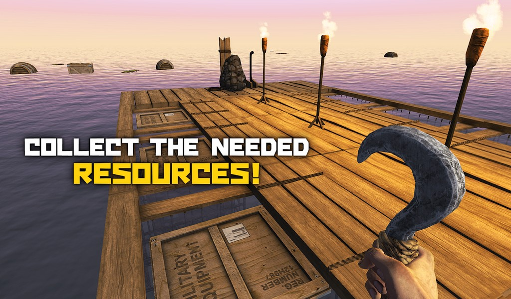 Survival and Craft Crafting In The Ocean APK MOD imagen 2