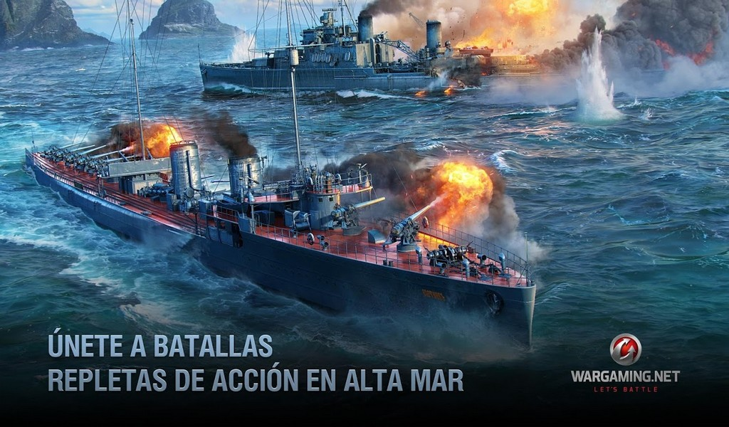 World of Warships Blitz APK MOD imagen 1