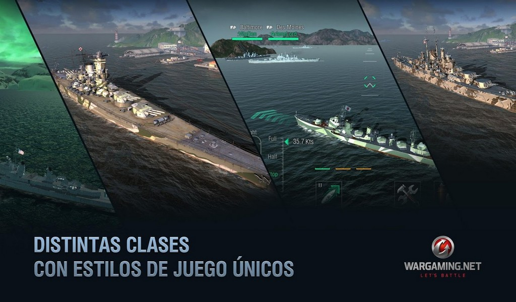 World of Warships Blitz APK MOD imagen 2