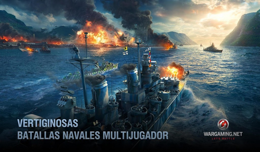 World of Warships Blitz APK MOD imagen 3